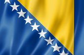 Bosnia And Herzegovinan Flag