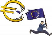 euro zone crisis - threat to the euro zone