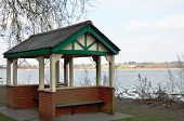 Shelter by River at Mistley