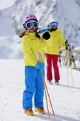stock photo of apr  - Ski - JPG