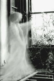 picture of banshee  - this is taken in an old ruined mansion. A very atmospheric setting which lent itself well to some spooky stuff done with a very slow shutter speed. Or maybe it wasn