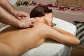 Woman On Massage Procedure