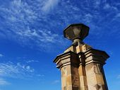 picture of braveheart  - Beatuful blue sky and part of monument - JPG