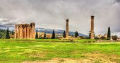 foto of olympian  - Temple of Olympian Zeus in Athens  - JPG