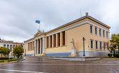 stock photo of socrates  - National and Kapodistrian University of Athens  - JPG