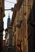 stock photo of vicenza  - A street in the historical center of Vicenza Veneto Italy - JPG