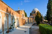 pic of michel  - The cemetery in San Michele Island Venice Veneto Italy - JPG
