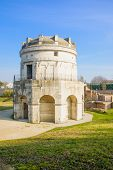 picture of mausoleum  - The Mausoleum of Theoderic  - JPG