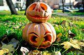 stock photo of jack-o-lantern  - Halloween  - JPG