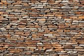 picture of stone house  - tiling stone wall texture - JPG