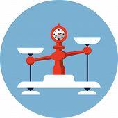 Постер, плакат: Balance Scales