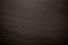 pic of slating  - black slate stone texture background image photo - JPG