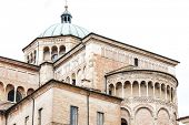 foto of pilaster  - detail of Parma Cathedral - JPG