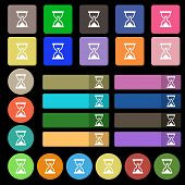 picture of sand timer  - Hourglass Sand timer icon sign - JPG