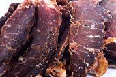 Biltong is a healthy low fat, high protein cured dry raw meat