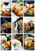 stock photo of chinese food  - Chinese food collage - JPG