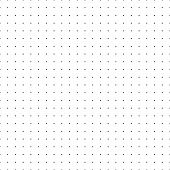 Dotted Grid. Seamless Pattern With Dots. Simplified Matrix White Vector Refill Background. Paper Wal poster
