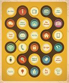 foto of slang  - Retro communication concept template - JPG