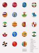 stock photo of ceuta  - This picture shows flags balls - JPG