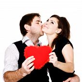stock photo of hand kiss  - Stock photo - JPG