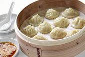 picture of steamy  - soup dumplings - JPG