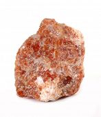 pic of calcite  - Orange calcite mineral rock - JPG