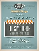 picture of 50s  - Vintage retro page template for a variety of purposes - JPG