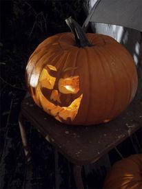 pic of jack-o-laterns-jack-o-latern  - halloween jack o latern - JPG