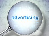 picture of optical  - Advertising concept - JPG