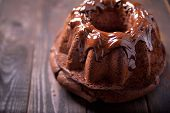 foto of pound cake  - Photo of delicious and tasty pound cake with chocolate - JPG