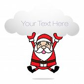 picture of merry chrismas  - Clip art merry chrismas santa happy smile - JPG