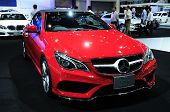 Bkk - Nov 28: The New Mercedes Benz  E-class Cabriolet On Display At Thailand International Motor Ex