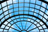 stock photo of arlington cemetery  - Glass and steel roof architecture at the Visitor - JPG