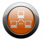 picture of vpn  - Image Illustration Image Icon Button Pictogram with Network symbol - JPG