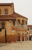 pic of rebuilt  - The Church of Santa Maria e San Donato in Murano Venice Italy - JPG