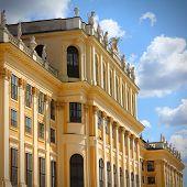 picture of schoenbrunn  - Vienna Austria  - JPG