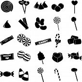 picture of lolli  - candy symbols set - JPG