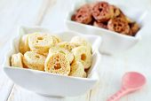 picture of mithai  - sweet rings for breakfast - JPG