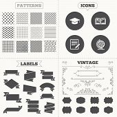 picture of geography  - Seamless patterns - JPG