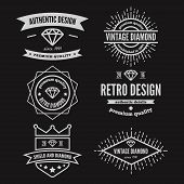picture of vintage jewelry  - Vintage logo - JPG