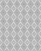foto of optical  - seamless optical art pattern vector background black - JPG