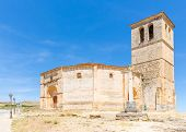 stock photo of templar  - Veracruz medieval church - JPG