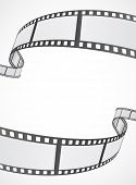 stock photo of stripping  - film reel strip abstract frame background design - JPG
