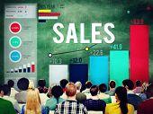 pic of revenue  - Sales Financial Money Revenue Profit Concept - JPG