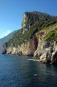 image of saracen  - Huge cliff and ocean in Portovenere - JPG