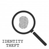 picture of theft  - Identity Theft Illustration - JPG