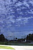 Cloudy Sky Mosaic poster