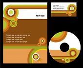 Corporate template background - set 2