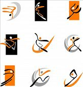 Постер, плакат: Сборник тезисов танцует значки