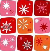 picture of meteorite  - Christmas Icons set with salutes - JPG